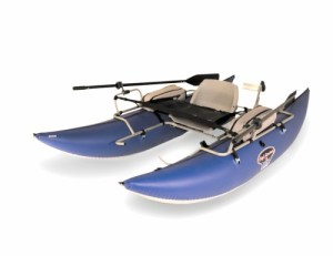 High Adventure 9 Foot Pontoon Fishing Boat