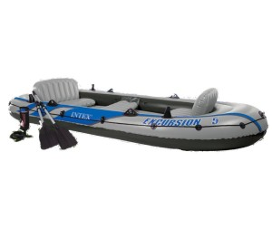 Intex 5 Person Plastic Boat